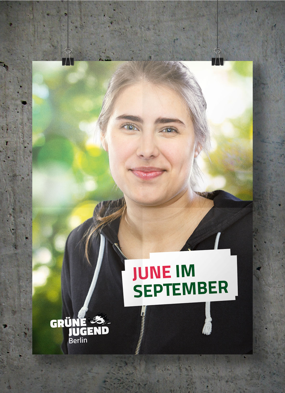 Wahlplakat June